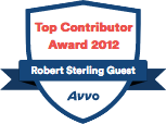 Robert Sterling Guest Top Contributor Award